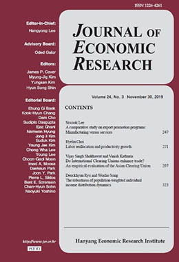 JOURNAL OF ECONOMIC RESEARCH