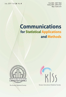 CSAM(Communications for Statistical Applications and Methods)