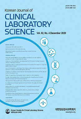 대한임상검사과학회지 (Korean Journal of Clinical Laboratory Science)