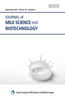 Journal of Milk Science and Biotechnology