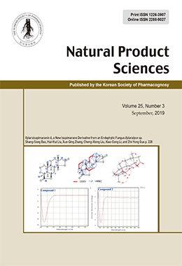 Natural Product Sciences