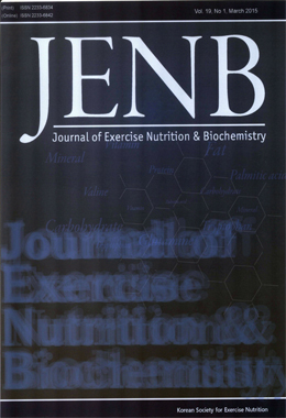 JENB (Journal of Exercise Nutrition & Biochemistry)