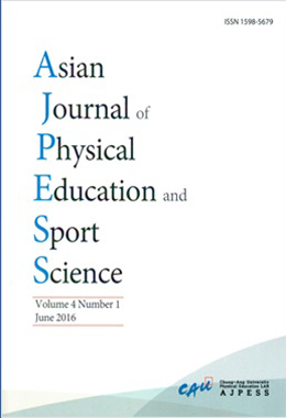 Asian Journal of Physical Education of Sport Science(AJPESS)